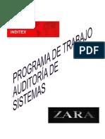 6. Programa de Trabajo de Auditoría de Sistemas