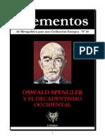 ELEMENTOSN10 Oswald Spengler