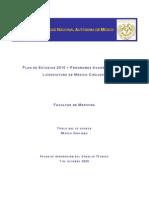 Plan de Estudios UNAM FACMED