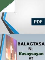 Kasaysayan at Elemento Ng Balagtasan