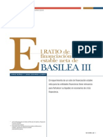 El Ratio de Financiación Estable Neta de Basilea III