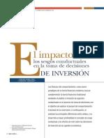 El Impacto de Los Sesgos Conductuales en La Toma de Decisiones de Inversión