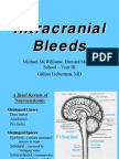 McWilliams Intracranial Hemorrhage