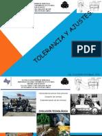 Tolerancias y Ajustes Presentación Con Ejercicios. 2015-1. Pptx