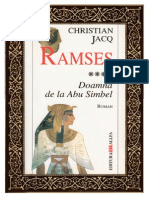 Christian Jacq - Ramses -4- Doamna de la Abu Simbe.pdf