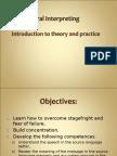 Oral Interpreting, Intro