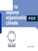 How to Improve Organizational Climate