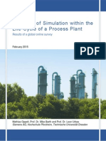 The Role of Simulation Within the Life-Cycle of a Process Plant