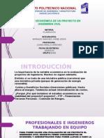 EVALUACION ECONOMICA DE UN PROYECTO DE ING. CIVIL