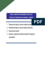 Q.organometálica TEMA 5 2014-15
