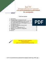 Les TIC Et Le Perfectionnement Professionnel Des Enseignats