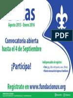 Información Convocatoria 2015-2