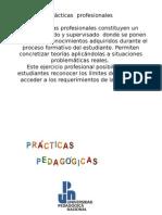 Proyecto Prácticas Profesionales Pedagogia