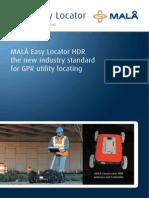 Mala Solutions - Easylocator Hdr