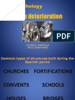 Stone Deterioration Morphology