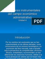 Los Valores Instrumentales Del Campo Económico Administrativo