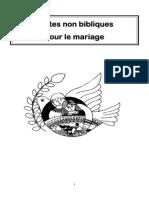 Textes Non Bibliques Pour Le Mariage