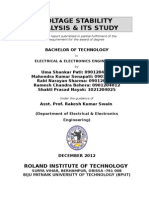 Voltage Stability Analysis & Its Study