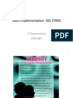 ISMS_Implementation ISO 27003