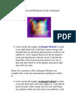 Медитация на архангелов