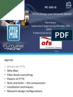 FTTH Basics and Network Design