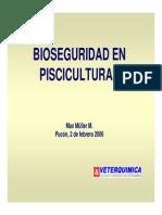 Bioseguridad en Acuiculturas