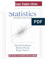 Statistics%2C 4th Edition by David Freedman%2C Robert Pisani