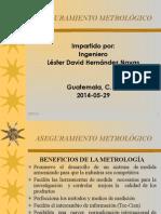 ASEGURAMIENTO METROLÓGICO-2014