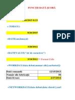 Curs 6_Functii de Tip Data Calendaristica