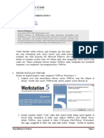 Instalasi VMWare Workstation 5