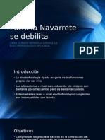 Patrícia Navarrete Se Debilita