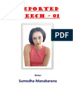 (A) Reported Speech - 01 By Sumedha Manabarana