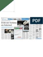 Evite Ser Victima en Internet