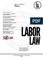 UP Labor Law Bar Review 2013