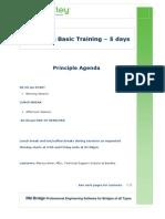 Schedule-RM Bridge Basic Training-OptionIII