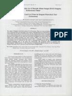 Kajian Degradasi Lahan Dan Air Di Daerah Aliran Sungai (DAS) Sengata Kalimantan Timur