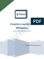 Creación e xestión de Wikispaces