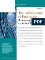 Perspective Architecture of Enterprise