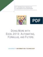 Aff Excel 2010