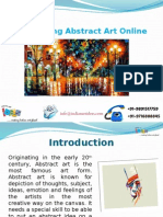 Purchasing Abstract Art Online