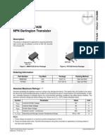 PZTA28 NPN Darlington Transistor
