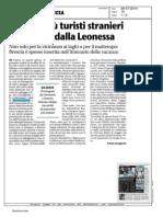 Giornale di Brescia - Dati Infopoint 2014