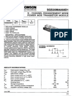 DSA2IH00173676 Powermos Transistor Module