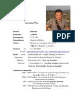 CV Delinschi Andrian