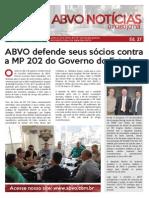 ABVO Noticias Nr 027 Mes 08 2015