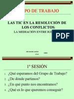 GRUPO DE TRABAJO 1ª SESIÓN