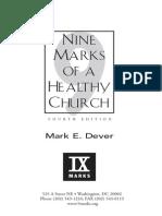 9 marcas de una iglesia