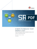 9 Ways Verisae Energy Cost Savings Whitepaper