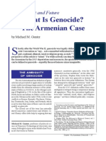 Michael M. Gunter - What is Genocide ? The Armenian Case
