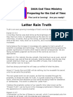 Latter Rain Truth